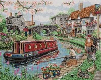 Изображение Деревенская набережная (Country Canal)