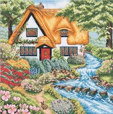 Изображение Коттедж у ручья (Cottage Stream)
