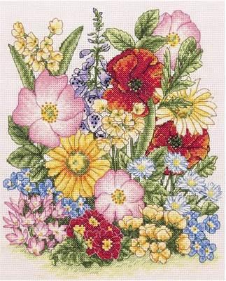 Изображение Луговые цветы (Meadow Flowers)