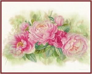Изображение Букет пионов (Bouquet of peonies)