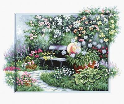 Изображение Цветущий сад