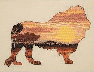 Изображение Силуэт льва (Lion Silhouette)
