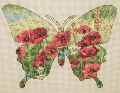 Изображение Силуэт бабочки (Butterfly Silhouette)