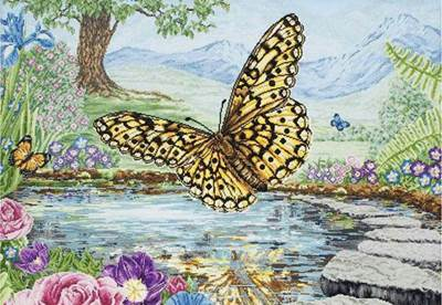 Изображение Бабочка 3D (Butterfly)