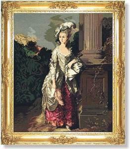 Изображение Дама у колонны (Lady at the Column)