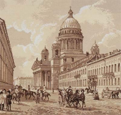 Изображение Старый Петербург. Исаакиевский собор
