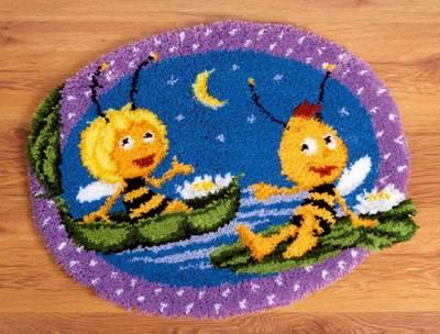 Изображение Майа и Вилли ночью (коврик) (Maya and Willy at Night)