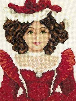 Изображение Кукла в красном платье (Doll in Red Dress)