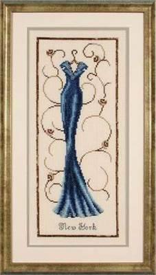 Изображение Голубое вечернее платье Нью-Йорк (Elegance in blue)