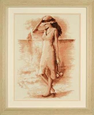 Изображение Девушка на берегу моря