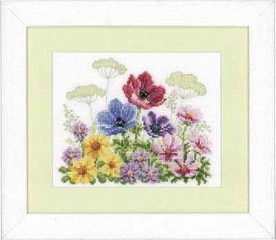 Изображение Цветочное поле с анемонами (Flower Field with Anemones)