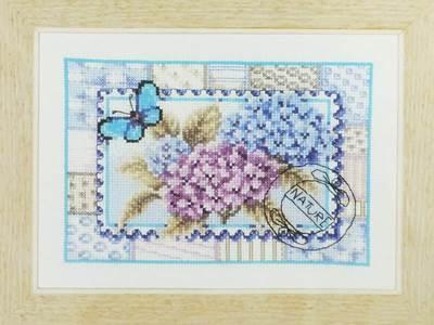 Изображение Почтовая марка с бабочкой (Butterfly Stamp)