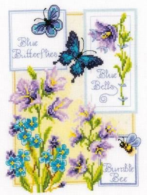 Изображение Колокольчики и бабочки
