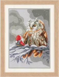 Изображение Сова и гном (Owl and gnome)