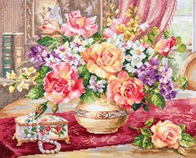 Изображение Розы в гостиной