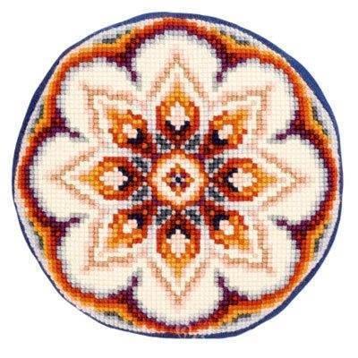 Изображение Круглый цветок (подушка) (Round Flower)