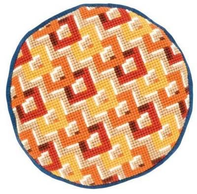 Изображение Каскадные квадраты (подушка) (Cascading Squares)