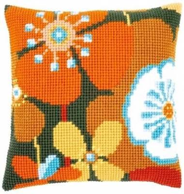 Изображение Ретро цветы (подушка) (Retro flowers)