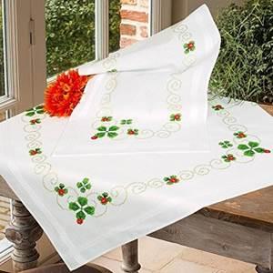 Изображение Четырехлистный клевер Скатерть (Four-leaf Clover Tablecloth)