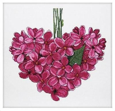 Изображение Фиолетовое сердце. Май