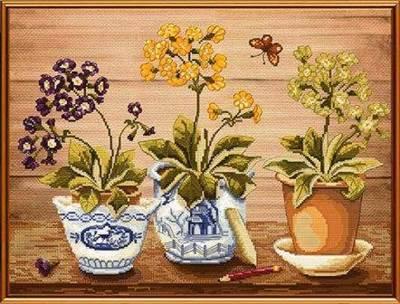 Изображение Весенние первоцветы