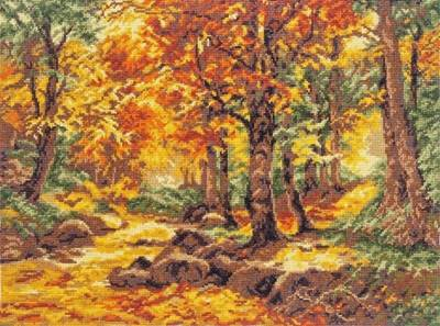 Изображение Осенний пейзаж Г.Бёмер
