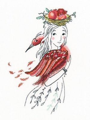 Изображение Красная птица