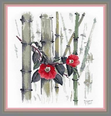 Изображение Камелии в бамбуковой роще