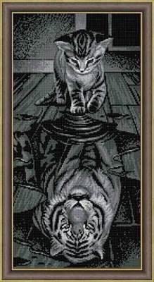 Изображение Тигр внутри