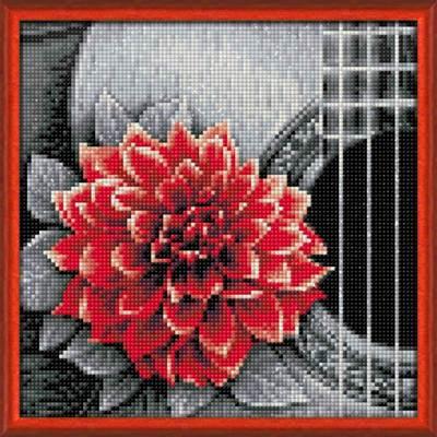 Изображение Цветок на гитаре