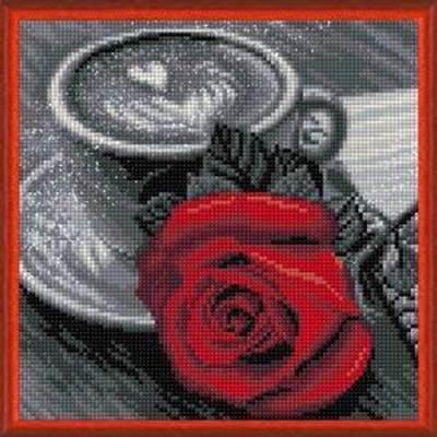 Изображение Роза и кофе