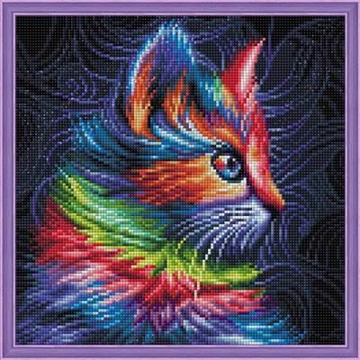 Изображение Разноцветный котенок