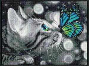 Изображение Бенгал и бабочка