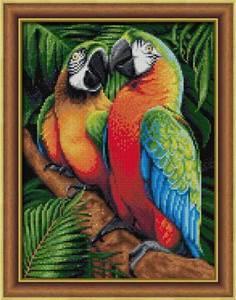 Изображение Ара в джунглях
