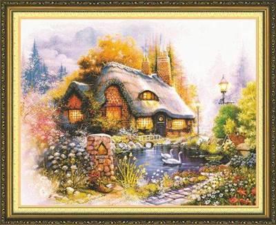 Изображение Дом у пруда