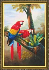 Изображение Два попугая