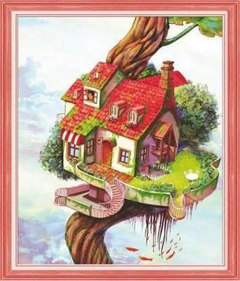 Изображение Дом на дереве