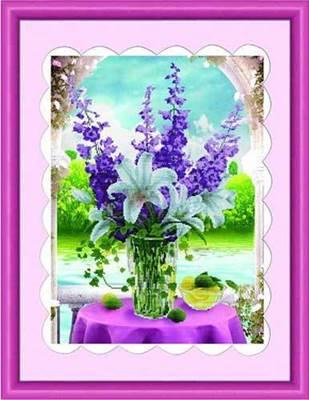Изображение Люпины и лилии