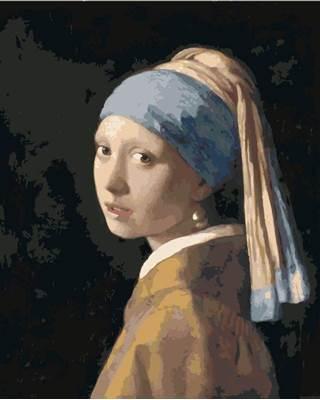 Изображение Женщина с жемчужной сережкой