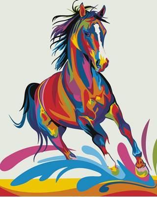 Изображение Радужный конь
