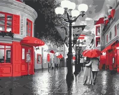Изображение Улица. Фонарь. Кафе