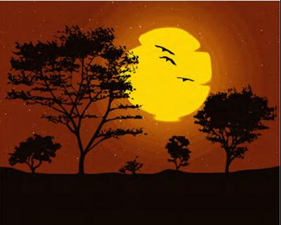Изображение Закат солнца