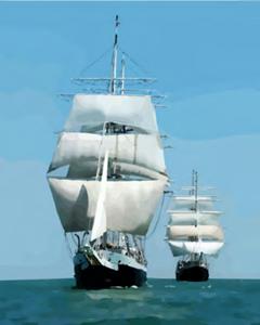 Изображение Корабли в море