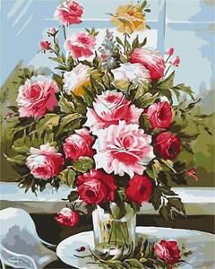 Изображение Букет из садовых роз