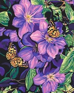 Изображение Цветы и бабочки