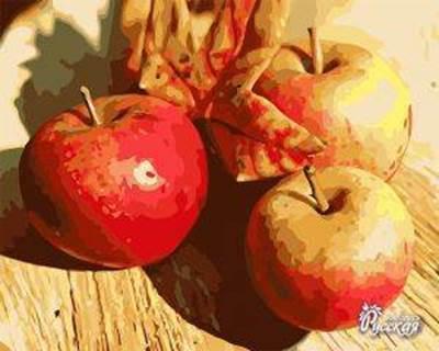 Изображение Осенние яблоки
