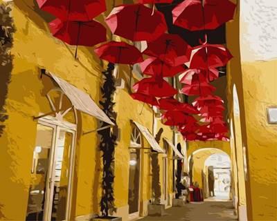 Изображение Улица из зонтиков