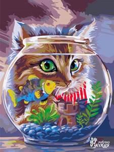 Изображение Любопытный котёнок