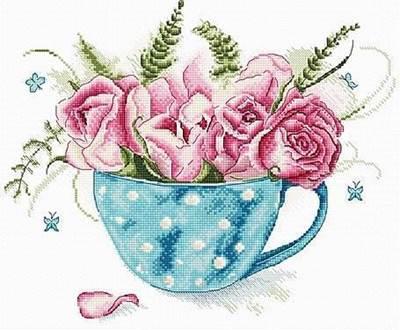 Изображение Чашка роз (A cup of roses)