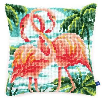 Изображение Фламинго (подушка) (Flamingos)